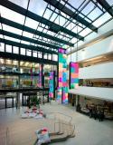Lichtdurchflutete Büros in der Microsoft Unternehmenszentrale