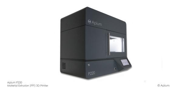 Apium P220: 3D-Drucker für das Additive Schmelzschichtverfahren mit Hochleistungsmaterialien