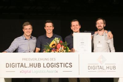 Starke Konkurrenz beim 1. Digital Logistics Award - MotionMiners belegen Platz 1