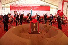Ground-breaking ceremony for Benecke-Kaliko's new plant in Changzhou (Photo: ContiTech)