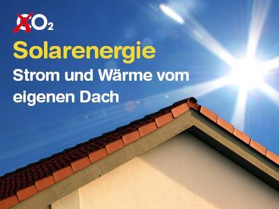 Solarenergie: Strom und Wärme vom eigenen Dach