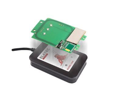 TWN4 MultiTech 2 HF ist auch in einem Desktop-Reader-Gehäuse verbaut erhältlich / Bildquelle: Elatec