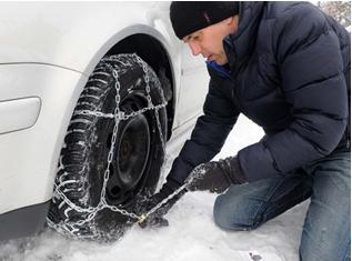 TÜV SÜD: Nicht jede Schneekette passt