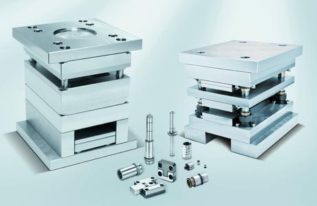 Standard parts for tool and mould making / Photo (Meusburger)
