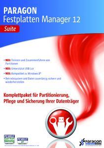 Der Experte für Partition und mehr: Festplatten Manager 12 Suite