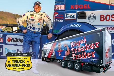 temps forts de Kögel durant le Truck-Grand-Prix