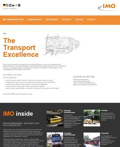 IMO focuses with new website on transportation applications