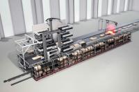 Dematic präsentiert mit der Automatisierungsanlage Dematic PackMyRide die weltweit erste vollautomatische Lösung für die Paketverladung. (Foto: Dematic)
