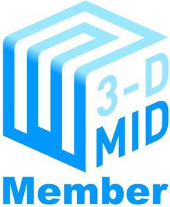 3-D MID e.V. Logo