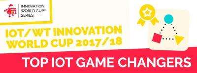 The IOT game changers 2018 of the IOT/WT Innovation World Cup® announced!