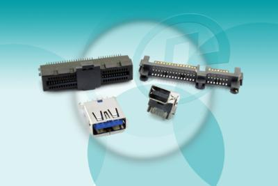 Pulse Electronics Introduces 4 high speed I/O Connectors