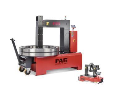 Die neue Generation der FAG HEATER wärmt Werkstücke von bis zu 1,6 Tonnen mit Wirkungsgradwerten von bis zu 0,9 an