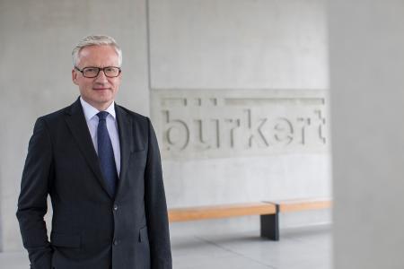 Heribert Rohrbeck, CEO bei Bürkert Fluid Control Systems (Bild 4)