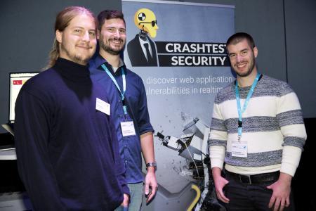 Crashtest Security auf der Startup Demo Night von BayStartUP