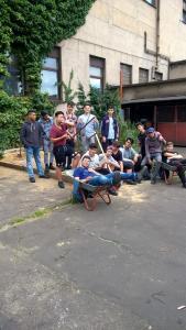 Duisburger Jugendliche in der Berufsvorbereitung
