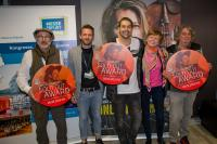 Geigenstar David Garrett erhielt SOLD OUT AWARD der Messe Erfurt