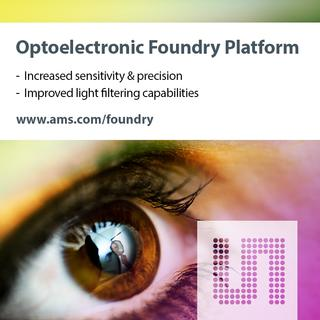 ams offers More Than Silicon in optoelectronics