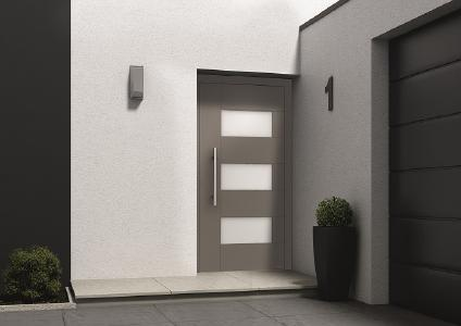 Weru Aluminium-Haustür