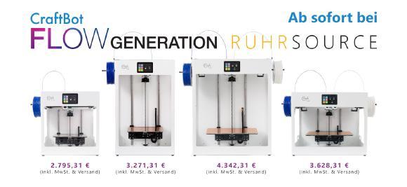 CraftBot Flow Generation versandkostenfrei zum Best Price bei RUHRSOURCE