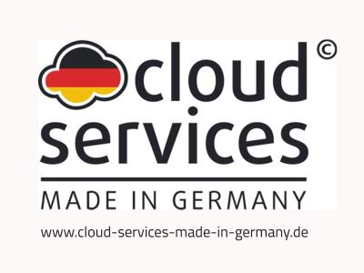 cloudservices made in germany press screen