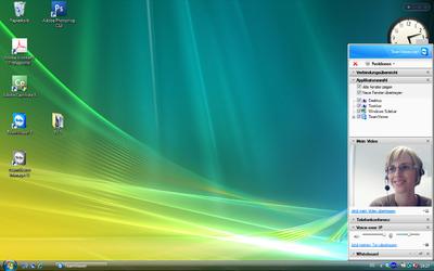 Screenshot TeamViewer 5  / Präsentation