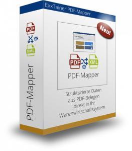 PDF-Mapper® unterstützt den systemübergreifenden Austausch von PDF-Belegen und die digitale Transformation im Unternehmen