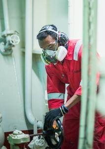 3M schützt Mitarbeiter auf Hospitalschiff