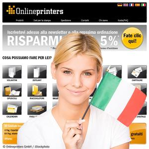 Italian online shop for print products