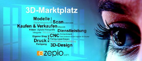 Frühjahrsaktion: 3D-Portal ezepio bis 21. Juni 2017 provisionsfrei nutzen