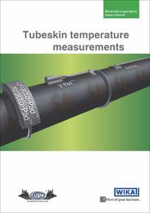 Tubeskin temperature measurements: New WIKA brochure