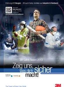 Safety Team 2013 Poster: Das aktuelle Kampagnenmotiv zum 3M Safety Award 2013