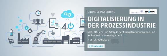 Online-Veranstaltung: Digitalisierung in der Prozessindustrie