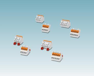 Push-in-Steckverbinder für Elektronikgehäuse