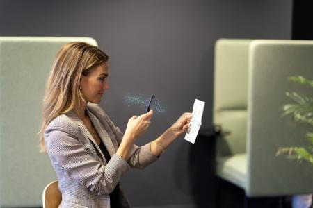 Nets Passport reader