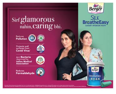 Silk Breath Easy (Image from Berger)