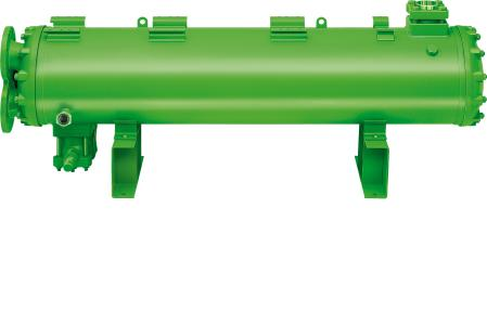 Ausgewählte BITZER Wärmetauscher und Druckbehälter (hier: wassergekühlter Verflüssiger) können nun kundenspezifisch angepasst werden
