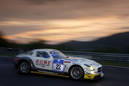 ROWE SLS AMG GT3