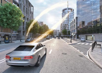 Gemeinsam weiterentwickelt: Die neue Generation des Intelligenten Antennenmoduls punktet mit einer deutlich gesteigerten Leistung / © Continental AG