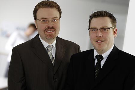 Stefan Lage und Torsten Claus, Geschäftsführer acceptIT