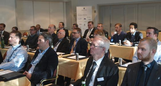 Attentive listeners at Aucotec Technology Day
