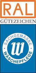 Das RAL-GZ 992/4 für Bewohnerwäsche aus Pflegeeinrichtungen bescheinigt die hygienisch einwandfreie Wiederaufbereitung von bewohnereigener Wäsche aus Pflegeeinrichtungen. Bewohnerwäsche umfasst im Wesentlichen waschbare Oberbekleidung wie z.B. Hosen, Blusen, Pullover, Leibwäsche wie z.B. Schlafanzüge, Unterwäsche, Socken und nicht waschbare Oberbekleidung wie z.B. Blusen oder Schals aus Seide