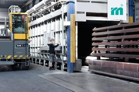 Die Tageskapazität der Meusburger-Glühöfen liegt bei 240 Tonnen. Foto: Meusburger