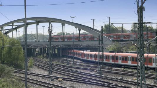 Visualisierung VE 10: Stabbogenbrücke, Quelle: Deutsche Bahn AG / Fritz Stoiber Productions GmbH