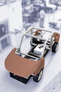 Modular Base Chassis for vehicle models and fixture building