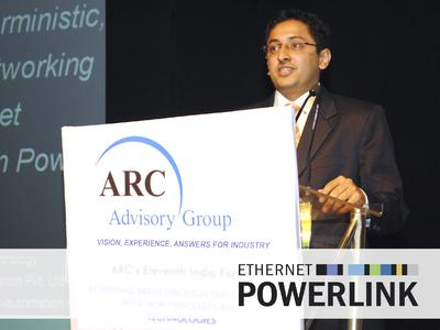 """""""Users of POWERLINK benefit from no longer being bound to a specific vendor, license or copyrighted technology."""" Ninad Deshpande, Open Technolo-gy representative from B&R"""