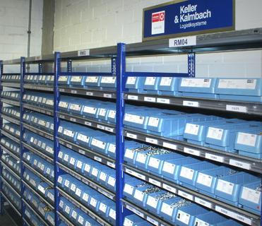 turnLOG sorgt bei C.F. Maier für eine ordentliche Lagerhaltung und effiziente Prozesse bei der Beschaffung von Kleinteilen