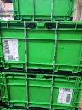 Für den Transportweg nutzt expert zwei Mehrwegbehältertypen, die jeweils mit einem Deckel verschlossen, doppelt umreift und mit zwei Plomben gesichert werden (Foto: trans-o-flex)