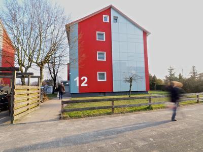 In der Wilhelm-Deecke-Str. 12 erspart die eindrucksvolle Giebelgestaltung die Suche nach der Hausnummer, Foto: Caparol Farben Lacke Bautenschutz/Axel Schmidt-Adlung