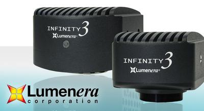 Now at FRAMOS': Lumenera ties up a magnificent INFINITY Fluorescence Camera Series package