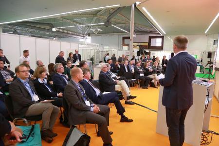 Mit hochkarätigen Vorträgen auf den Bühnen der Innovation-Center boten sich den Zuhörern an den zwei Tagen Neues und Wissenswertes aus Praxis und Forschung.